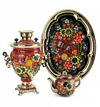 "Samovar Acorn in the set ""Sunflowers"" 110V"