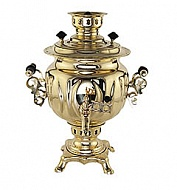 The coal samovar 2.5 l