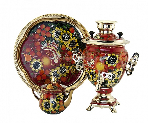 "Samovar in the form of ""Acorn"""