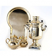 "Samovar ""Bank"" smooth 3 litre kit"