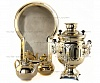 "The samovar is of the form ""the Bank"" 3 l in a set"