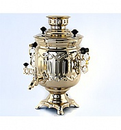 "Samovar form of a ""Bank"" of 3 litres"