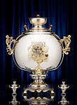 "Exclusive samovar ""Ball"" on 74 liters"