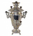"Samovar ""Glass"" collection Kapyrzin 1.5 l"