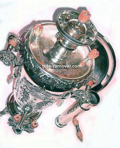 "Samovar in honor of the holiday ""Victory"""