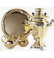 "Samovar ""Glass"" 3 l set"